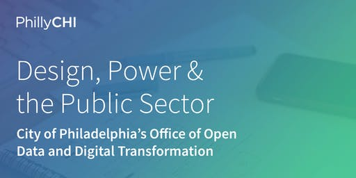 Design, Power and the Public Sector
