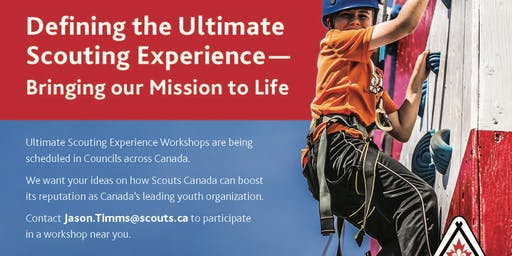 Ultimate Scouting Experience Workshop