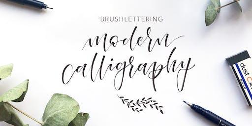 Brushlettering - Modern Calligraphy Style