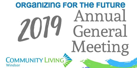 2018-2019 Annual General Meeting tickets