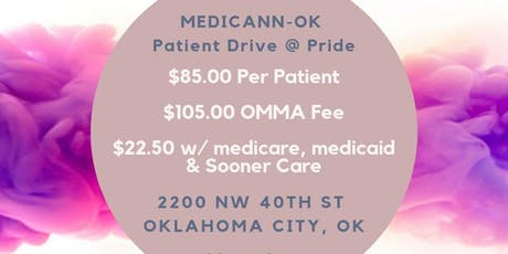 OKC Pride Patient Drive tickets