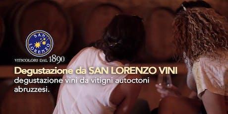 Degustazione da  San Lorenzo Vini - degustazione d'Abruzzo tickets
