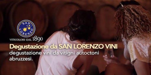 Degustazione da  San Lorenzo Vini - degustazione d'Abruzzo