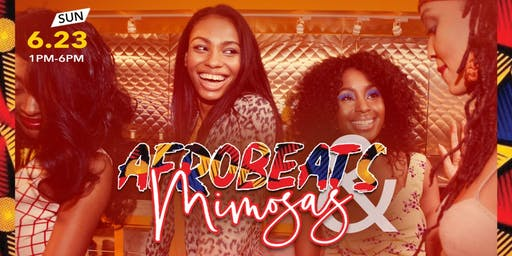 AFROBEATS & MIMOSAS @ THE PRESS | Free Entry & Unlimited Free Mimosas 12-1p