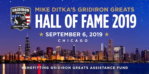 Mike Ditka's Gridiron Greats Hall of Fame Gala Chicago 2019