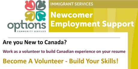 Volunteering in Canada - Become a Volunteer!  tickets