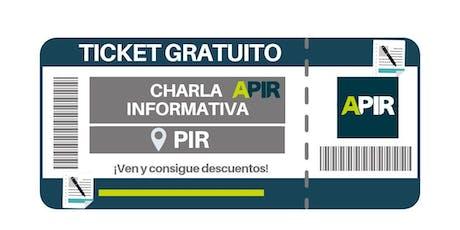 CHARLA APIR - MURCIA entradas