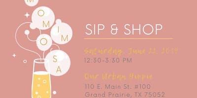 """""""MOMimosa"""" Sip & Shop"""