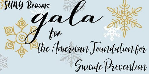 SUNY Broome Suicide Prevention Gala