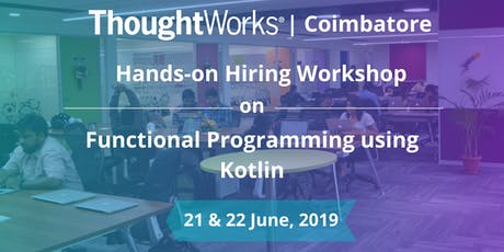 Hiring Workshop on Functional Programming with Kotlin tickets