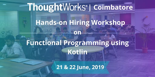 Hiring Workshop on Functional Programming with Kotlin