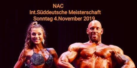 Int. Süddeutsche Meisterschaft NAC 2019 Tickets