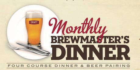 Four Winds Brewing Company Brewmaster Dinner tickets