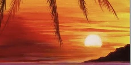 LGBTQ Sip and Paint An Island at Sunset !  Wedneday Eve. - July 17  tickets