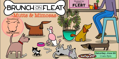 Brunch on Fleat: Mutts & Mimosas tickets
