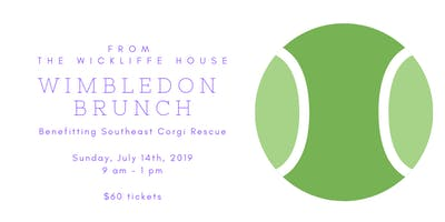 Wimbledon Brunch, benefitting Southeast Corgi Rescue