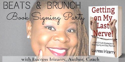 Beats & Brunch Book Signing w/Lucress Irizarry, Author, Coach
