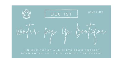 Holiday Exclusive Designer Pop Up - Art pieces, Designer Clothes,  Handmade Goods