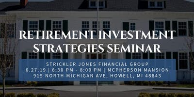 Retirement Investment Strategies Seminar