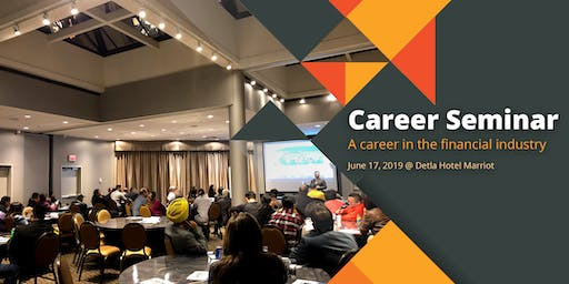 Career Seminar: Learn about a Career in the Financial Industry