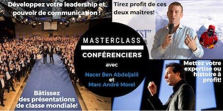 MasterClass CONFÉRENCIERS CASABLANCA 14-15 DÉC 2019 tickets