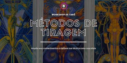 Workshop de Tarô - Métodos de Tiragem