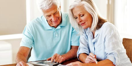 Retirement Income Planning: 07/29/2019* tickets