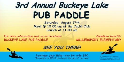 3rd Annual Buckeye Lake Pub Paddle
