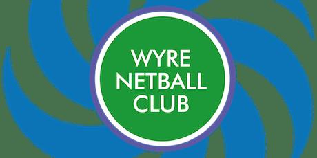 Wyre Netball Club Presentation Evening 2019 tickets