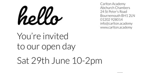 Carlton Academy Open Day