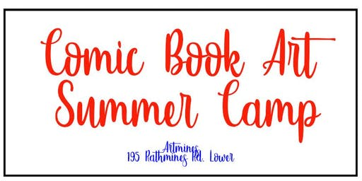 Comic Book Art Summer Camp