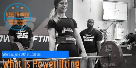 What Is Powerlifting | Q & A Workshop  tickets