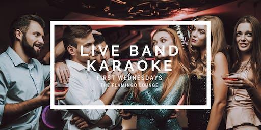 The Flamingo Lounge presents Live Band Karaoke