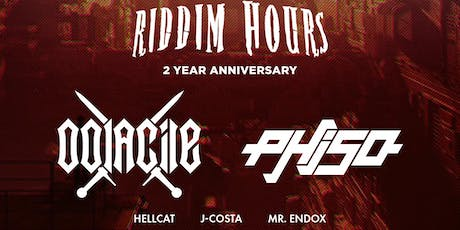 Sequence 07.18: Riddim Hours 2 Year Anniversary ft. Oolacile & Phiso tickets