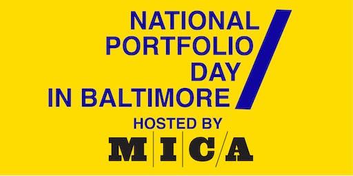 Pre-Registration for the 2019 National Portfolio Day in Baltimore