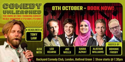 Tony Law at Comedy Unleashed