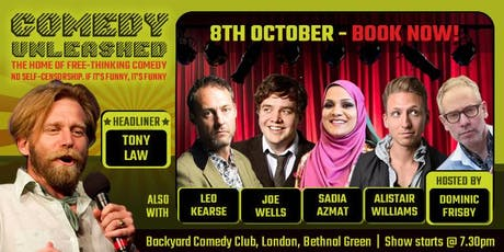 Tony Law at Comedy Unleashed tickets