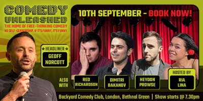 Geoff Norcott at Comedy Unleashed