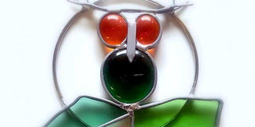 Stained Glass Garden Spirit Owl Workshop 8/10/19