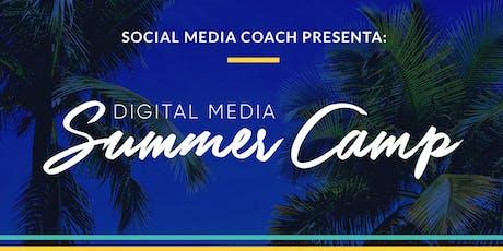 Social Media Coach   Digital Media Summer Camp (Julio / Sabatino) tickets