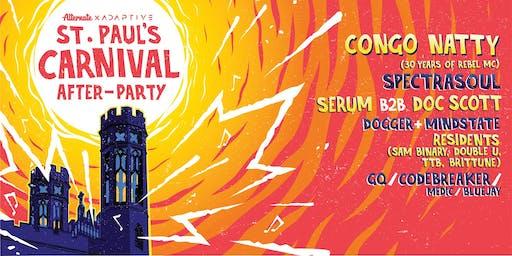 Carnival After-Party » Congo Natty, SpectraSoul, Serum b2b Doc Scott, Dogger & Mindstate