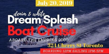 Dream Splash Boat Cruise tickets