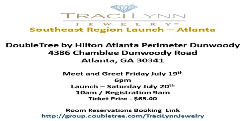 Traci Lynn Jewelry Atlanta - Regional Launch 2019