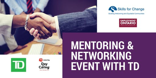 Mentoring & Networking Event with TD