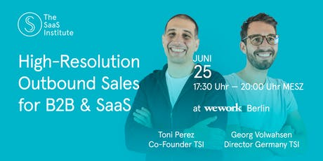 High-Resolution Outbound Sales for B2B & SaaS | BERLIN tickets