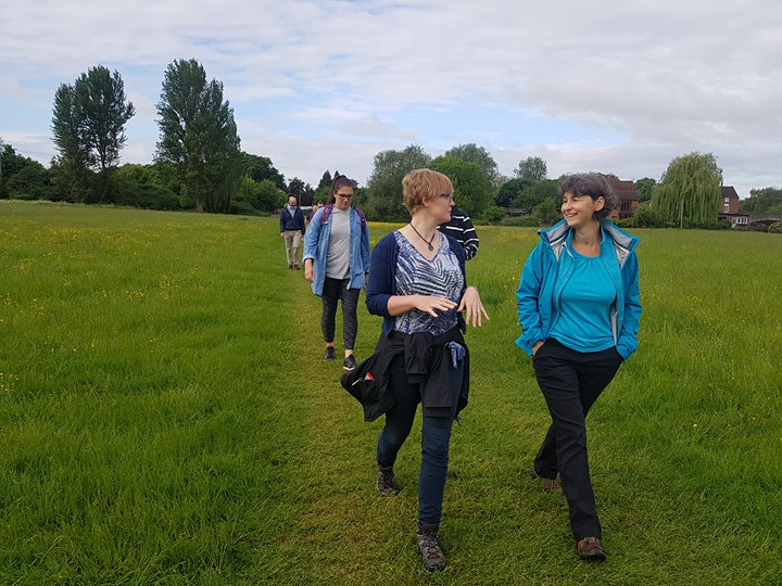 Natural Netwalking - Benson, Oxfordshire.  4th October,  9:30am -11:30am image