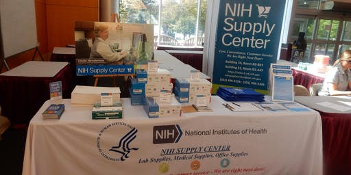 June 26th 2019 - NIH Supply Center - Building 50 Table Top Product Demonstration Expo