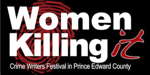 Women Killing It Crime Writers Festival in Prince Edward County