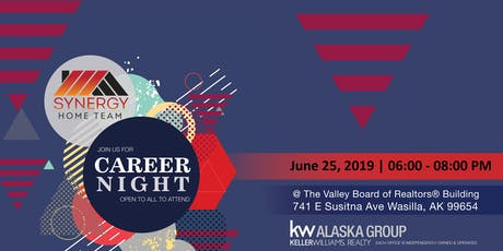 Synergy Home Team Career Night 2019 tickets