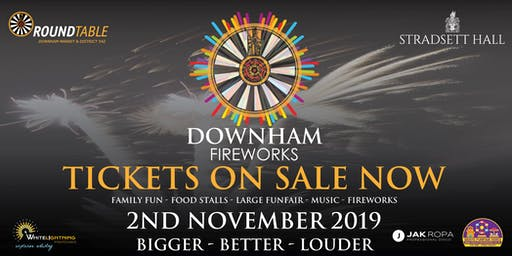 Downham Fireworks By the Round Table 542